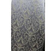 Ткань для штор серо-дымчастого цвета  1,5 метров в ширину