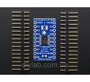 Adafruit 8-ми канальный преобразователь логічніх уровней 3.3-5В, 5-3.3В