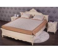 Деревянная двуспальная кровать Моника