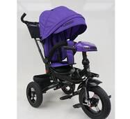 Велосипед трехколесный TURBOTRIKE М 5448HA-8 Фиолетовый