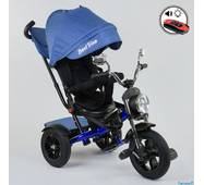 Велосипед трехколесный Best Trike 4490 - 3525 Голубой