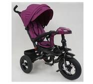 Велосипед трехколесный TURBOTRIKE М 5448HA-18T Фиолетовый