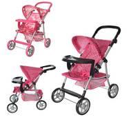 Детская коляска для кукол 9366 T/018 MELOGO