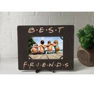 Рамка для фото з дерева з гравіюванням Friends