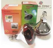 Інфрачервона лампа Lux Light IR R125 150 Вт, Червона