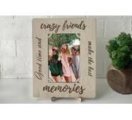Рамка для фото з дерева з гравіюванням Friends2