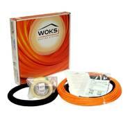 Тонкий двужильный нагревательный кабель (секция) Woks (Украина) купить недорого