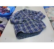 Секонд хенд, Рубашки фланель муж на подкладке зима Канада