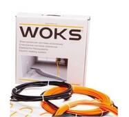 Тонкий двужильный нагревательный кабель (секция) Woks (Украина) купить в розницу