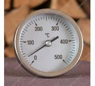 Біметалічний термометр до 500 град. для тандиру Великий