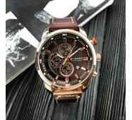 Мужские наручные часы Curren 8291 Cuprum-Brown