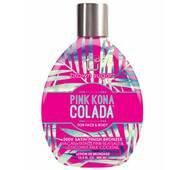 Крем для солярия Pink Kona Colada 200X с сатиновыми бронзантами, кокосовым молочком и розовой морской солью
