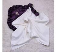 Крыжма для крещения Brilliantbaby Богородица 90х90 см фиолет