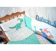 Защита-бортики в кроватку для новорожденных Леко Dobryi son