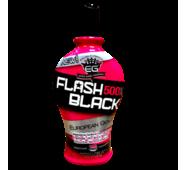 Крем для загара в солярии  FLASH BLACK 500X для моментального результата и формулой сохранения цвета