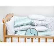 Бортики-защита в кроватку из сатина Верона - 2 Ёлочки Dobryi son