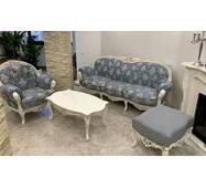 Классический диван Вероника с креслом Барокко стиль