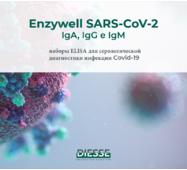 ИФА набор на коронавирус ENZY-WELL SARS-CoV-2 IgG (Италия)
