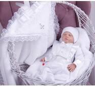 Набор для крещения мальчика Маленький принц белый