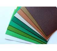 """Набір китайського жорсткого фетру 2 мм Pugovichok """"Лісовий"""" 8 кольорів для рукоділля та творчості (7166)"""