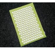 Массажный коврик Аппликатор Кузнецова 40х55 Зеленый