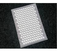Массажный коврик Аппликатор Кузнецова 40х55 Серый