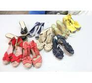 Секонд хенд, Обувь Микс жен босоножки на платформе лето 1с