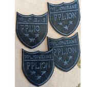 Термоаппликация   Pplion, 5 Х 6 см