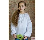 """Вишита блузка для дівчинки """"Кокетка"""""""