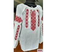 Вышиванка для девочки  ''Орнамент'' (машинная вышивка)