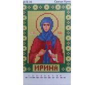 Схема  вышивки бисером  '' Св.Ирина''
