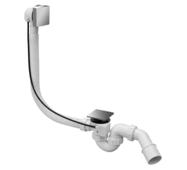 Сифон автомат для ванн ТМ McAlpine HС31SQ-CBS1-1М слив/перелив