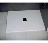 Душевой прямоугольный поддон NOX 100х80х3.5 белый ultraslim BESCO PMD PIRAMIDA