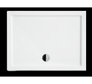Душевой прямоугольный поддон ALPINA-2 NEW 120х80х5,5 BESCO PMD PIRAMIDA ультратонкий