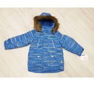 Термо куртка зима ТМ Garden Baby 128, Синій