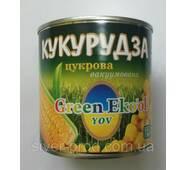 """Кукурудза цукрова 340г """"Green Eko'ol"""" ж/б (1/12 або 8)"""