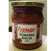 """Томатна паста 25% """"Гурман"""" ТВ 485г (1/12)"""