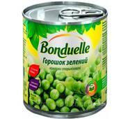 """Горошок зелений консервований 200г МІНІ ж/б """"Bonduelle"""" (1/12)***"""