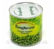 """Горошок зелений консервований 400г ж/б """"Bonduelle"""" (1/12)"""