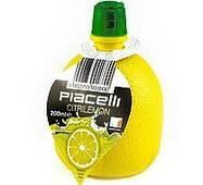 Сік лимона Piacelli ПЕТ 200мл (1/15)