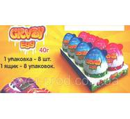 Crazy Egg Яйцо Большое 80г*8 (аналог Kinder Joy)