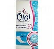 Прокладки Ola! щоденні Daily 2краплі 20шт (1/30)