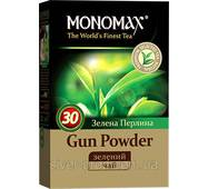 "Чай ""МОНОМАХ"" 100г Gun Powder Зелена Перлина (1/16)"