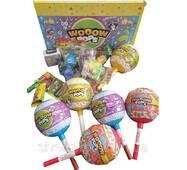 Пластмассовый Слой WOOOW Pops игрушка   конфеты   фломастеры Hello Kitty 50г*6шт