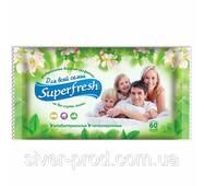 В.серветки 60шт без клапану Superfresh Для всей семьи ВЕЛ.УП. (1/15)