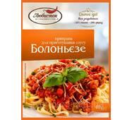 """Приправа для приготовления соуса """"Болоньєзе"""" 40г """"Любисток"""" (1*5/40)"""