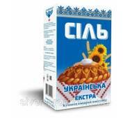 Соль Экстра Украинская 1кг бум/пачка (1/15)