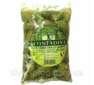 Оливки зелені з кісточкою 850г La Contadina М/У(1/10)