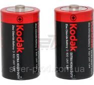 Батарейка Kodak велика R20 в пленке 2шт (1/24)