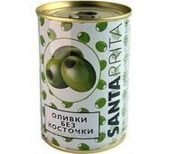 Оливки зелені без кісточки 280г Santa Rrita (1/12)